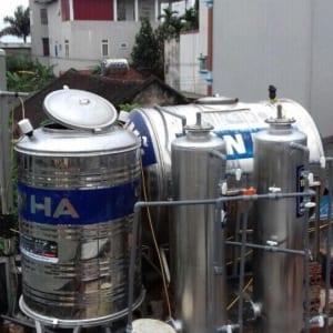 hệ thống xử lý nước giếng khoan gia đình